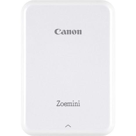 CANON Pack imprimante photo portable ZOEMINI blanche + housse + 50 feuilles