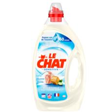 LE CHAT Lessive liquide sensitive aloé véra 60 lavages 3l