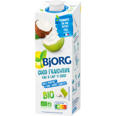 Boisson à l'eau et au lait de coco bio 1l