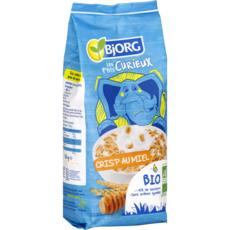 BJORG Les P'tits Curieux Céréales crisp bio au miel 220g