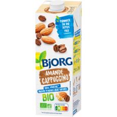 BJORG Lait d'amande cappuccino calcium bio 1l