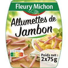 FLEURY MICHON Allumettes de jambon 2x75g