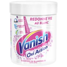 VANISH Oxy Action Poudre détachante pour le linge blanc 470g
