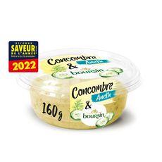 BOURSIN Spécialité à tartiner concombre et aneth 1 pièce 160g
