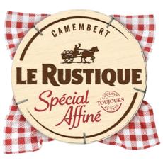LE RUSTIQUE Camembert au lait pasteurisé spécial affiné 260g