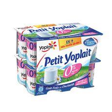 YOPLAIT Petits Suisses allégé 0% MG 12x60g