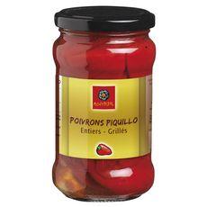MONTPERAL Poivrons piquillos entiers et grillés 200g