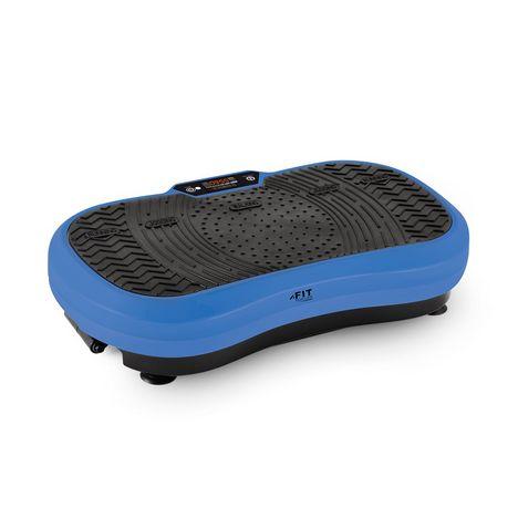 FIT FOR LIFE Machine de vibration VIB900 - Bleu