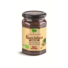 NOCCIOLATA Pâte à tartiner bio sans lait, au cacao et noisettes sans huile de palme 270g