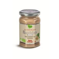 NOCCIOLATA Pâte à tartiner bio aux noisettes sans huile de palme 270g