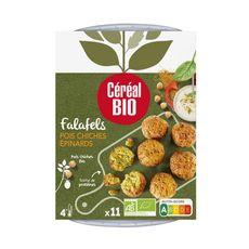 CEREAL BIO Falafels aux pois chiches et épinards 180g