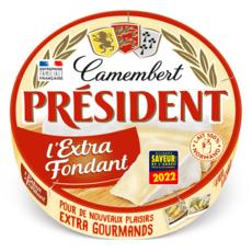 PRESIDENT Camembert l'extra fondant 250g