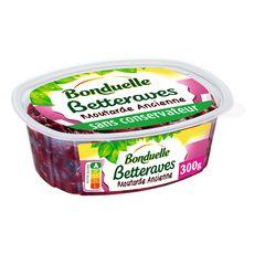 BONDUELLE Salade de betteraves à la moutarde à l'ancienne 300g