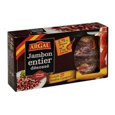 ARGAL Jambon entier désossé affinage 8 mois 3.75kg désossé