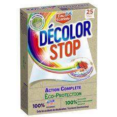 DECOLOR STOP Lingettes anti-décoloration éco-protection 25 lingettes