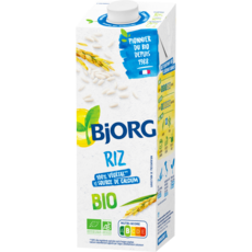 BJORG Boisson riz calcium bio 1l