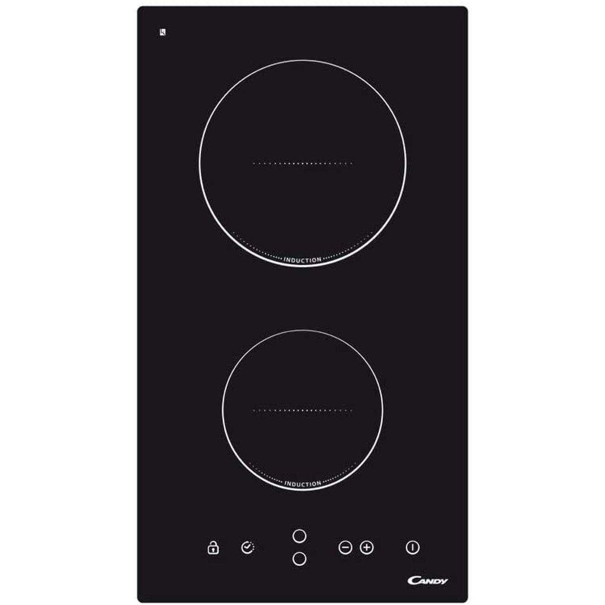 Table de cuisson vitrocéramique CDI30, 30 cm, 2 foyers