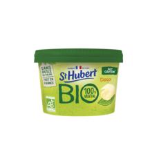 ST HUBERT St Hubert BIO® est fabriqué en France, à partir de matières premières agricoles biologiques d'origine végétale. Sa recette est sans huile de palme et convient aux végétariens et aux végétaliens. 230g