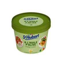 ST HUBERT Margarine à l'huile d'olive vierge extra à tartiner ou à cuisiner 230g