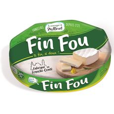 FROMAGERIE MILLERET Fromage Fin fou 180g