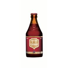 CHIMAY Bière brune étiquette rouge 7% bouteille 33cl