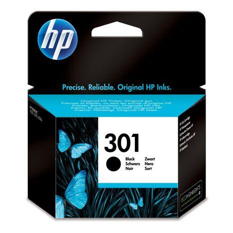 HP Cartouche d'encre noire n°301