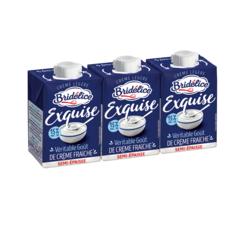 BRIDELICE Exquise Crème légère semi épaisse 15% mg 3x20cl