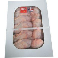 DUC Cuisses de poulet jaune avec dos 5kg