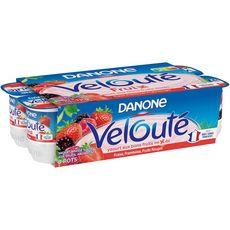 VELOUTE FRUIX Velouté fruix yaourts aux fruits rouges brassé 8x125g