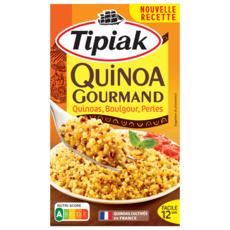 TIPIAK Quinoa gourmand, 3 quinoa et blé 400g