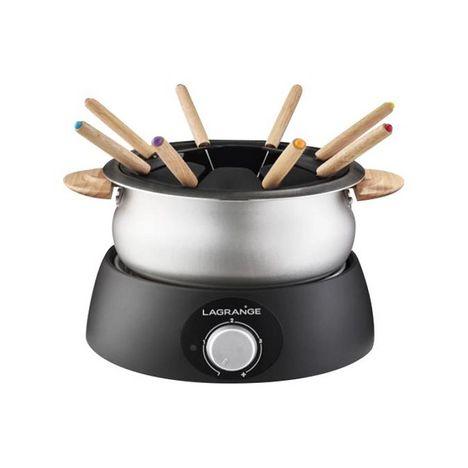 LAGRANGE Appareil à fondue 349013 - Noir