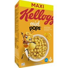 Kellogg's MIEL POP'S Céréales au miel