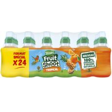 TEISSEIRE Fruit shoot boisson au jus de fruits tropicaux bteilles 24x20cl