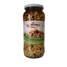 LUSITANA Haricots cornilles cuits en bocal 400g