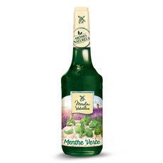MOULIN DE VALDONNE Sirop de menthe verte bouteille verre 70cl