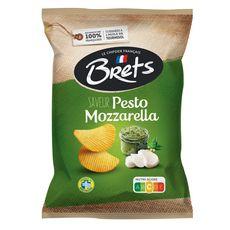BRETS Chips pesto mozzarella 125g