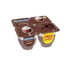 DANETTE Liégeois au chocolat 4x100g