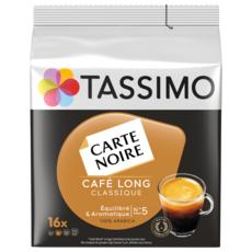 TASSIMO Café long classique Carte Noire en dosette 16 dosettes 104g