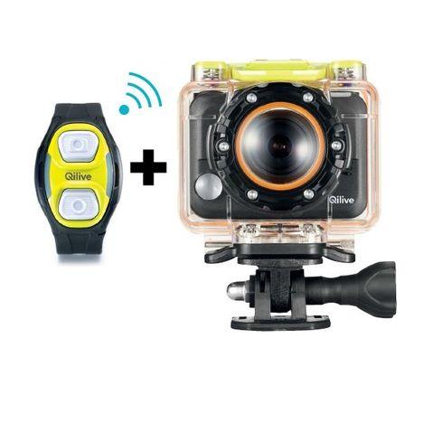 Q 2655 Camera De Sport Bracelet Remote Qilive Pas Cher A Prix Auchan