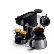 PHILIPS Cafetière à dosette et filtre HD7892/61 Senseo Switch