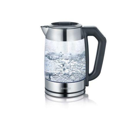 SEVERIN Bouilloire 2 en 1 eau et thé en inox WK3477