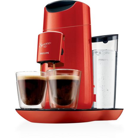 PHILIPS Cafetiere a dosette HD7870/81 Senseo Twist Rouge et Noir