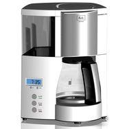 MELITTA Cafetiere OPTIMA TIMER 100801 Blanc Programmable 12 Tasses 900W