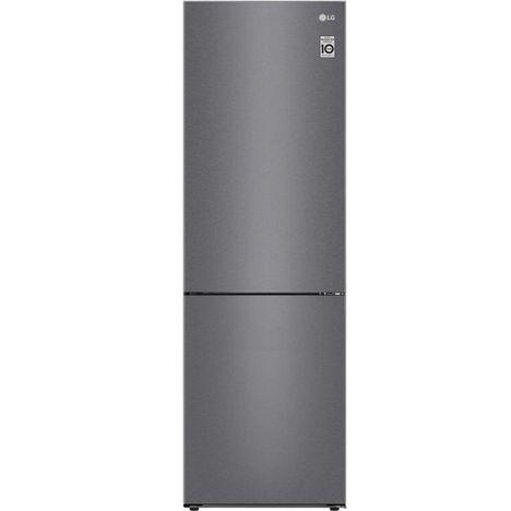LG Réfrigérateur combiné GBB61DSJEC 341 L, Froid ventilé