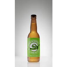 MASCARET Bière blonde bio lager artisanale 4,5% bouteille 33cl