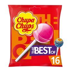 Chupa Chups CHUPA CHUPS Sucettes aux goûts assortis
