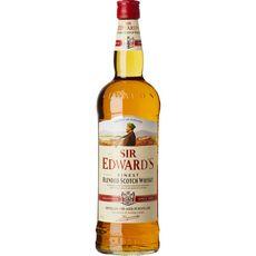 SIR EDWARD'S Scotch whisky écossais blended malt 40% 1l