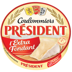PRESIDENT Coulommiers extra fondant 350g