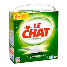 LE CHAT Lessive poudre au bicarbonate 40 lavages 2,8kg
