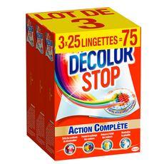 EAU ECARLATE Lingettes anti-décoloration 75 lingettes